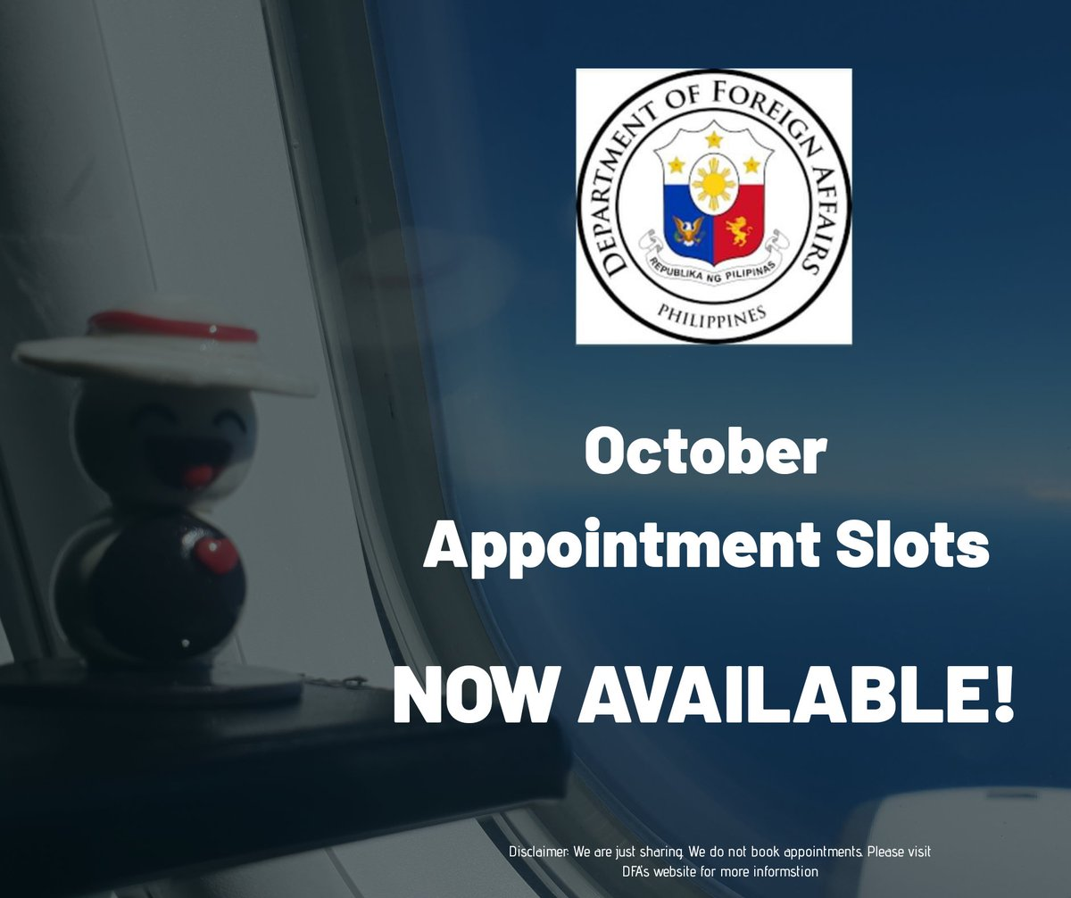 Available Slots For Passport Appointment July 2019