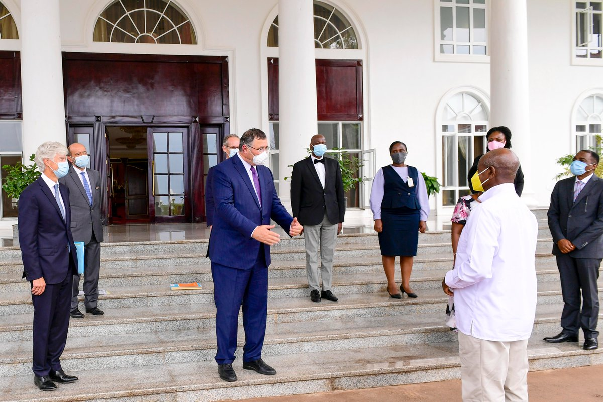 I welcome our partners from France, led by the .@Total CEO and Chairman, Patrick Pouyanne. I will get in touch with His Excellency .@MagufuliJP to follow up on Tanzanias host agreement.