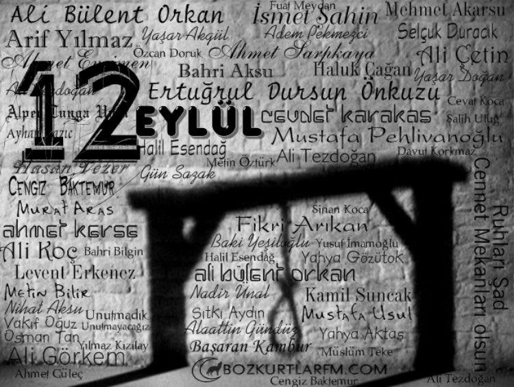 Bizi öldü sanmayın bir öldük bin DİRİLDİK !!!  #12Eylül #Vatansağolsun  #ülkücüsehitler https://t.co/QbQMoC8HLz