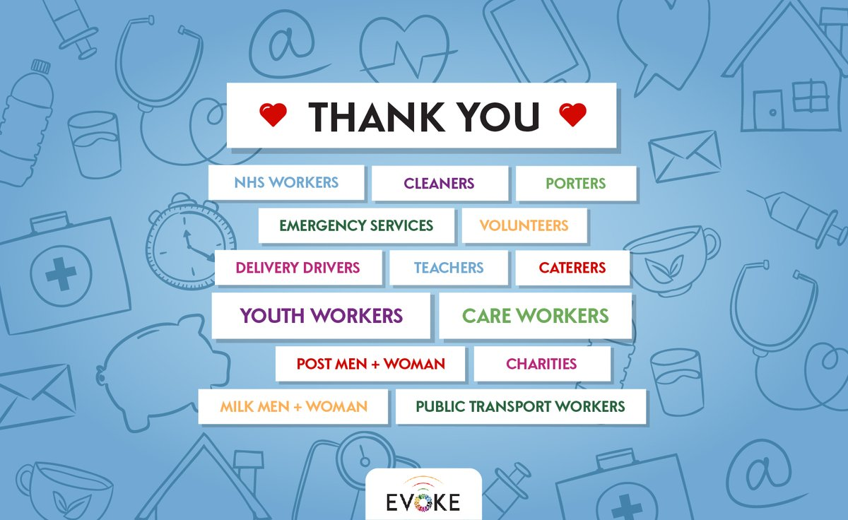 The claps may have come to an end but our appreciation for all key workers continues. We are so thankful for all those out there caring for those in need.   So, to those who have been on the front line to keep the nation running, we applaud you.   #clapfornhs #clapforkeyworkers https://t.co/1uvNN1hczD