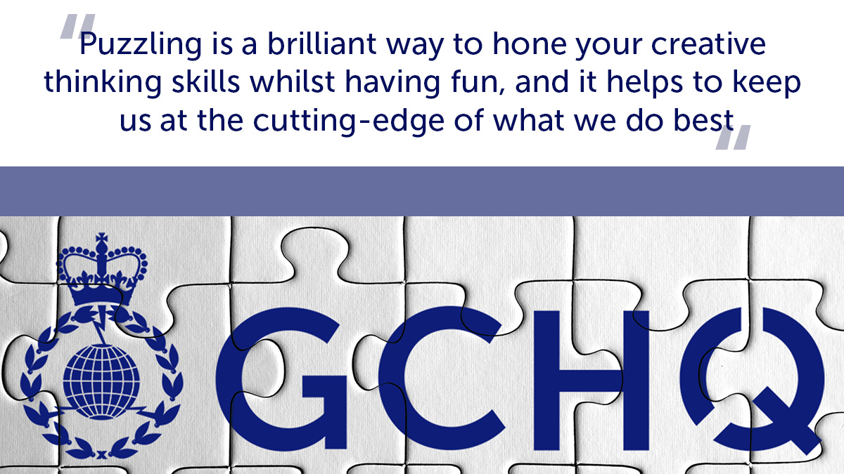 Lets get ready to #puzzle! 🧩 Weve got lots of brilliant brainteasers up our sleeve to test you out this weekend. Check them out ⬇️ gchq.gov.uk/information/st…