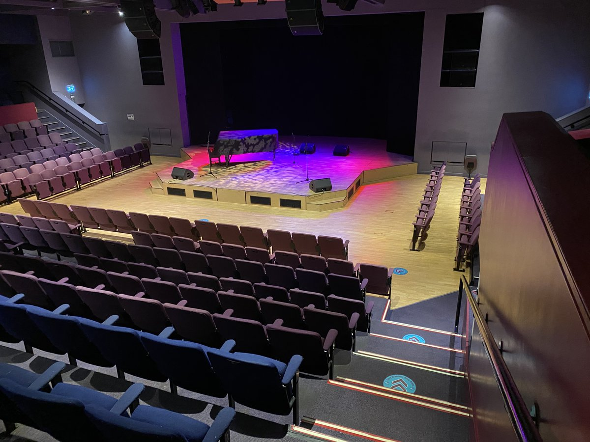 Been working hard to get us ready for our first gig since March.  It will be different.  Sold out to capacity of 83 instead of 450.  We are following guidelines to make it as safe and enjoyable as we can.  Thanks for everyone's support to help us deliver this pilot @StablesMK https://t.co/ykTxxaZY00