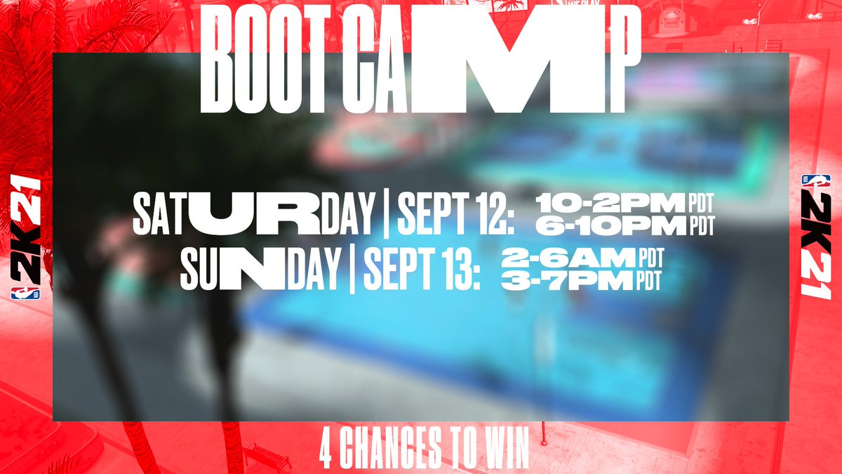 You got 4 chances to win in Boot Camp this weekend 🏆 Who's getting a W? https://t.co/rr9Krub0jn