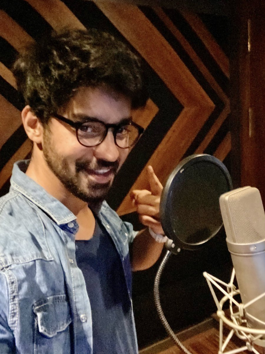 Dubbing for @dhayaalagiri 'S short film. Something to definitely look out for! :) https://t.co/I7hGx4j4Oy