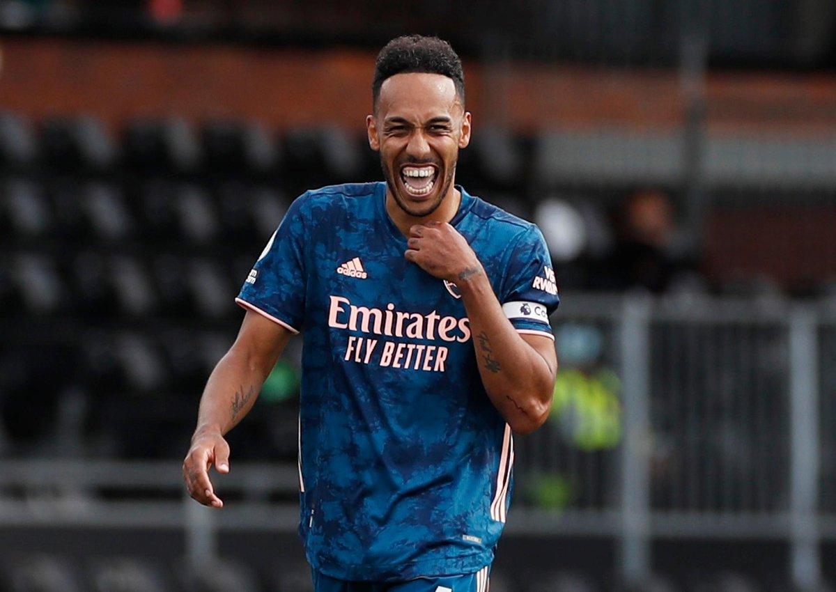 Thanks 😇 RT @kbrligainggris: FT: Fulham 0-3 Arsenal   ⚽ Lacazette 8' ⚽ Gabriel 49' ⚽ Aubameyang 57'  The Gunners Puncaki Klasemen Premier League! 🔥 https://t.co/FUg9tQVQWl