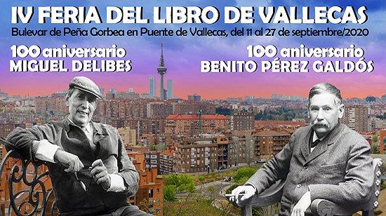 𝗔𝗖𝗧𝗨𝗔𝗟𝗜𝗗𝗔𝗗 | Comienza la IV Feria del Libro de Puente de #Vallecas con el pregón hoy, a las 20:00 horas en el Bulevar de Peña Gorbea, a cargo de Ramoncín y Nieves Herrero. 👉👉👉 https://t.co/ymzSc5l8iq https://t.co/tWrcYxm5Dc