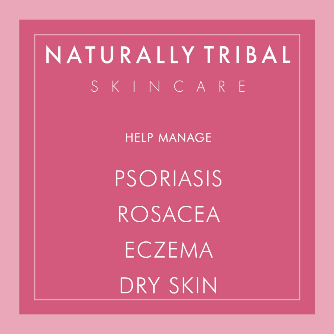 Our products have helped so many of our #Tribers with skin conditions 🙌  Which have you tried? ✨  #JoinTheTribe #naturalskincare #eczemarelief #psoriasisskincare #rosaceatreatment #sensitiveskinsolution #dryskinsolution https://t.co/AdXDe3vL2U