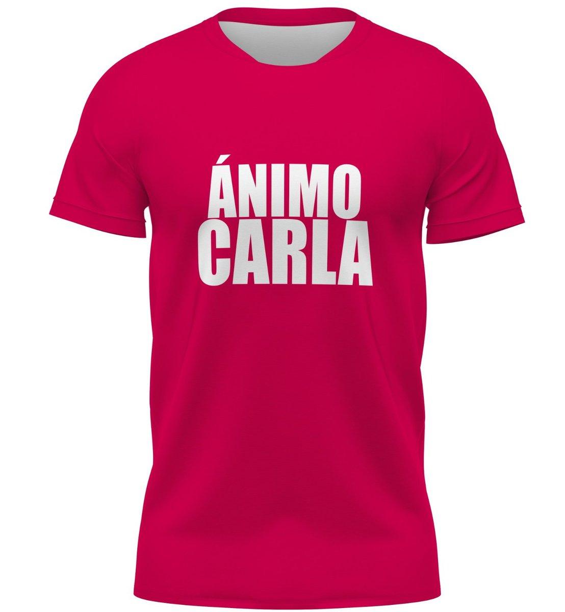 ¡Estamos contigo @CarlaSuarezNava! 💛  Nuestros jugadores saltarán esta tarde al campo en Butarque luciendo esta camiseta de apoyo a la tenista grancanaria.  ¡Mucha fuerza! 💪🏽   #LeganésLasPalmas https://t.co/Ci8SXsSIkw