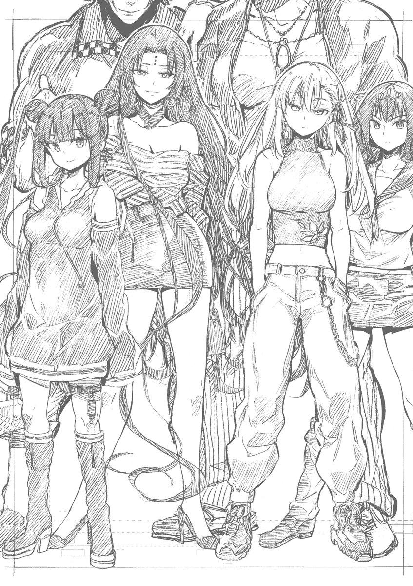 [FGO] ヤンキー漫画チックなキアラさんたちがかっこいい!!
