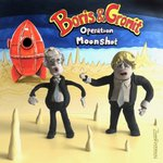 Image for the Tweet beginning: Boris and Gromit @aardman #operationmoonshot