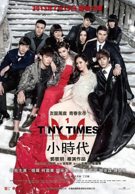 My favorite Chinese movie Tiny Times 1-4. Beneran bagus!  Hari ini bakalan nonton lagi.  Happy birthday Yang Mi