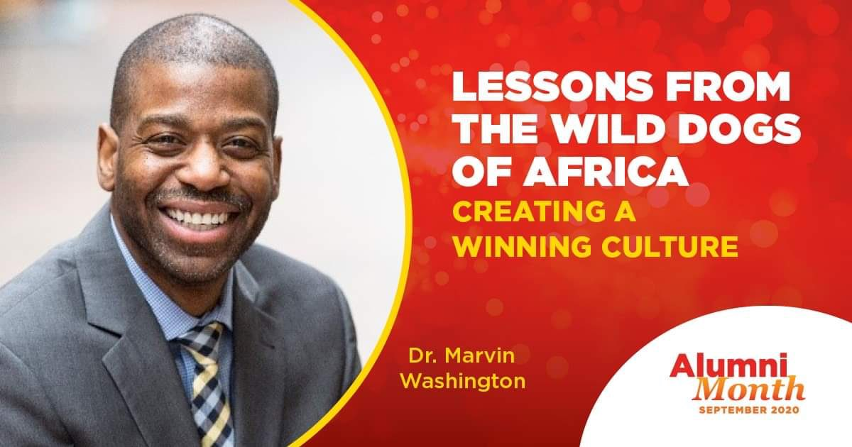 "Lessons From the Wild Dogs of Africa: Creating a Winning Culture:  ""Dr Marvin Washington will discuss the difficulty in creating a winning culture, why we hate teamwork, and how effective teams function"" Date:Wed, 16 Sept. Time: 11-12pm MT @ucalgaryalumni https://t.co/IE6MLULFf2 https://t.co/sSfyhKMlj5"