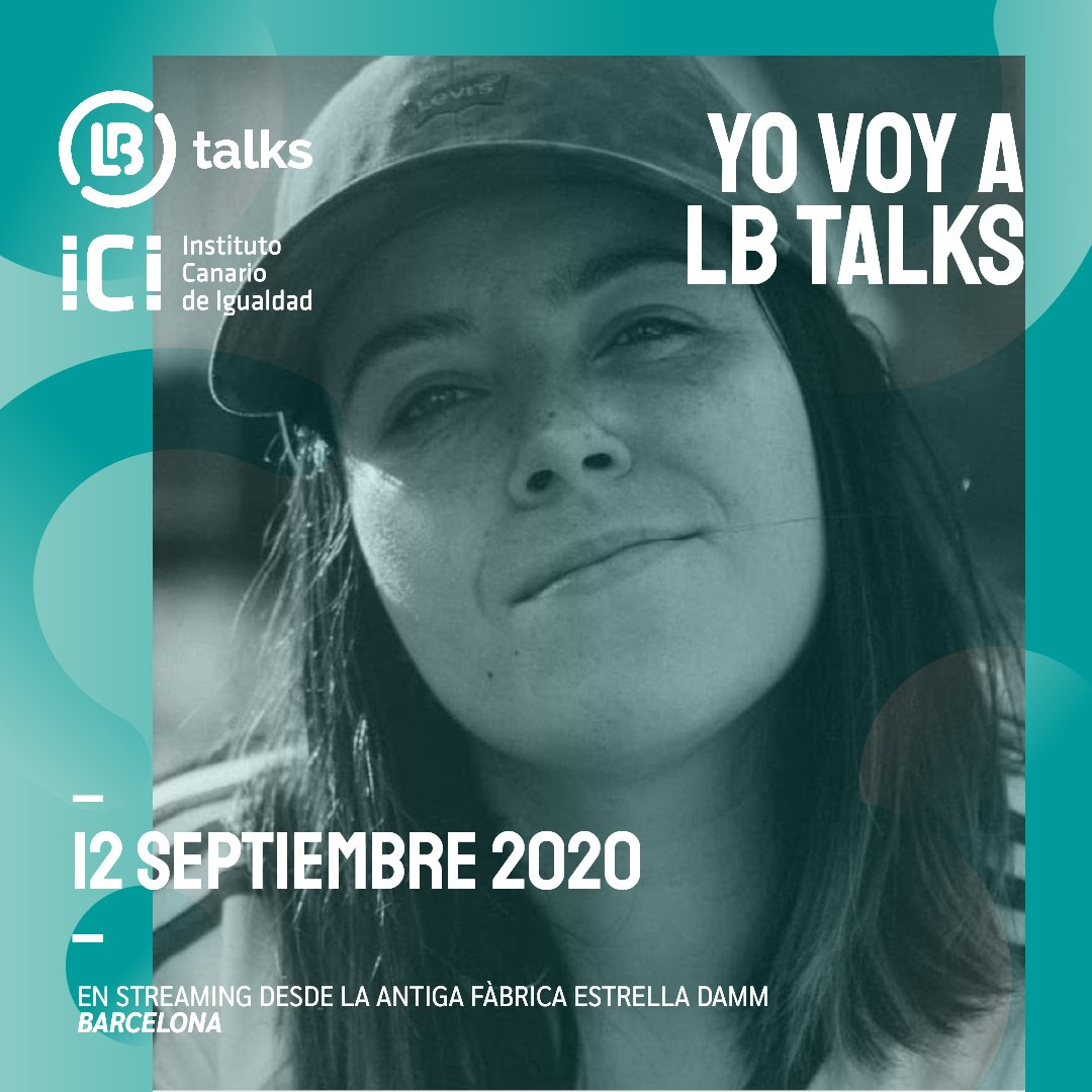 a las 17:30 voy a estar por #lbtalks2020 hablando innovación y comunicación siendo mujer lgtb :)  🏳️🌈 https://t.co/lSdumU4FTN https://t.co/MDtDL2RUwg