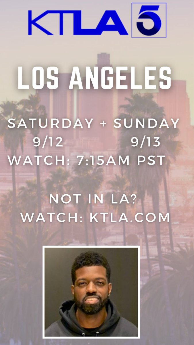 Have a good weekend folks, I'm on @KTLAWeekendAM today and tomorrow! Tune in! 🙌🏾 ktla.com/on-air/live-st…