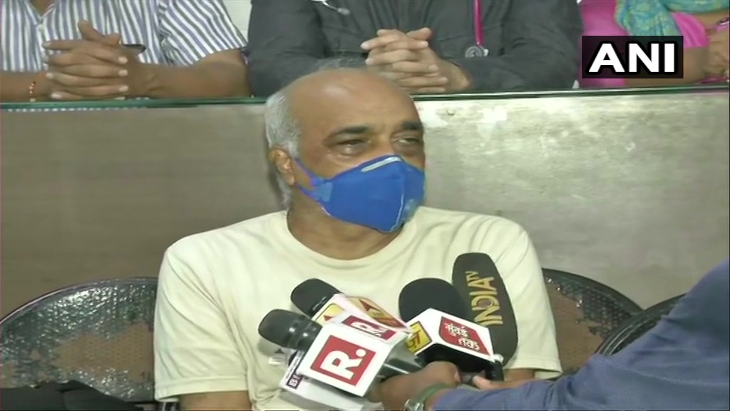 Im injured & stressed. What happened, is saddening. Id like to tell Uddhav Thackeray that if you cant look after law & order then resign & let people decide who should look after it: Madan Sharma, retired Navy officer who alleged he was beaten up by Shiv Sena workers in Mumbai