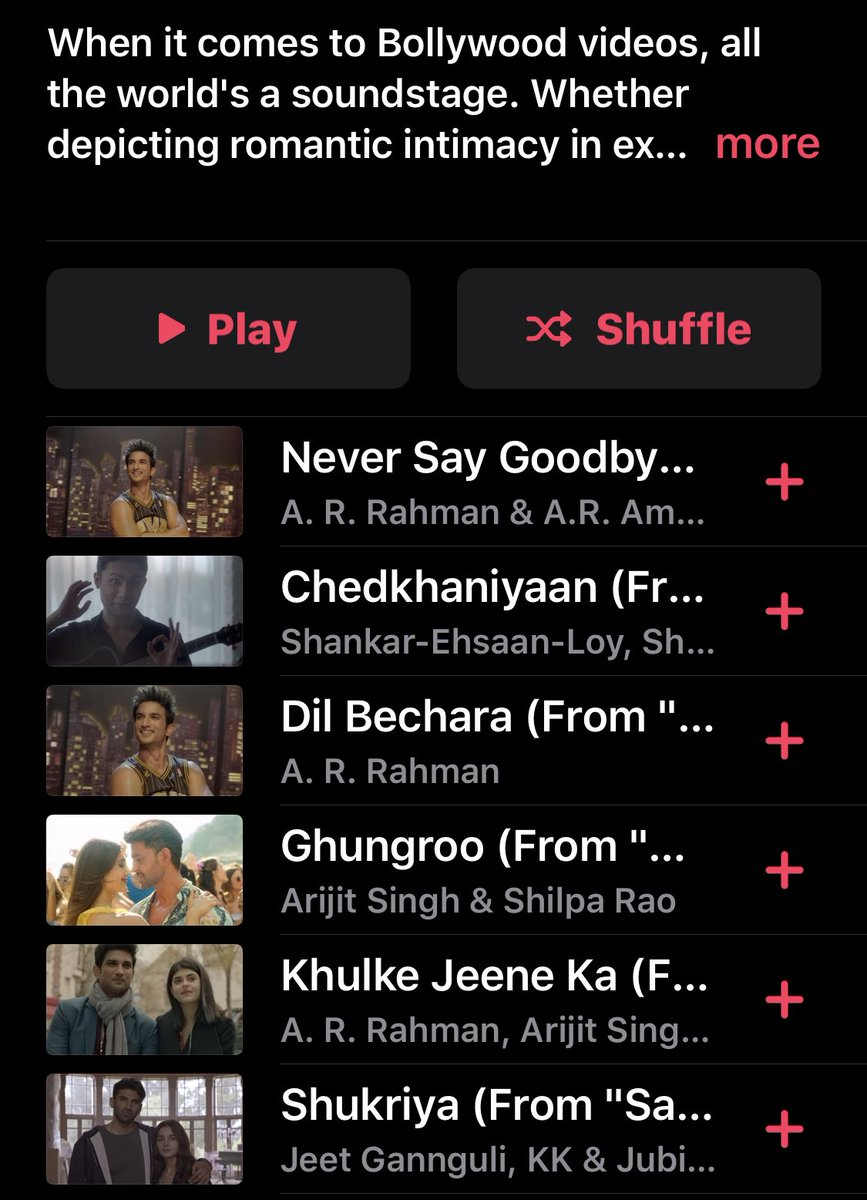 Never say good bye 👋 #DilBechara ⁦@sonymusic⁩ ⁦@arrameen⁩ https://t.co/A7PfvSGdXr