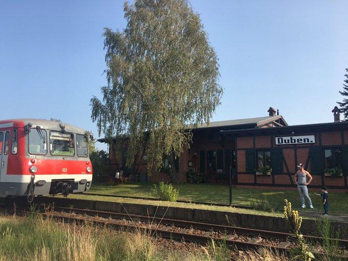Wiedereröffnung der Niederlausitzer Eisenbahn zwischen L�