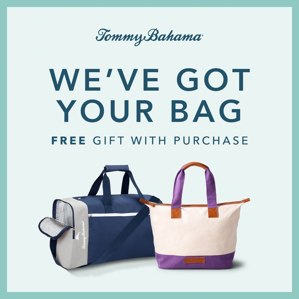 Get a free duffel bag or tote with a select men's or women's fragrance purchase, now through September 20 at Tommy Bahama! https://t.co/B3qrEQ0uHi