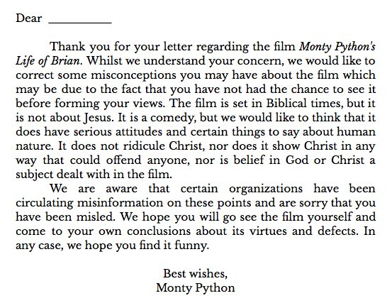 A form letter from 1979. https://t.co/edwmUn7Dyw