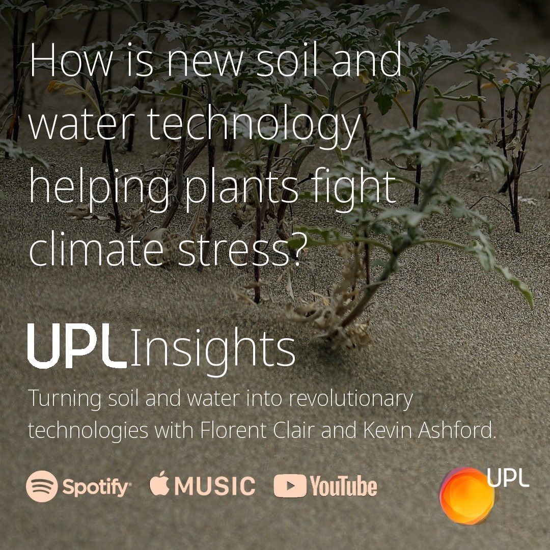 In this episode of #UPLInsights, we explore how a revolutionary new technology is reworking the science of soil and water to help plants reach their full potential. Florent Clair is joined by Kevin Ashford to discuss UPL's #ZEBA technology. https://t.co/oy1zCU2myS #AGRF2020 #AGRF https://t.co/LzKUAxezGR