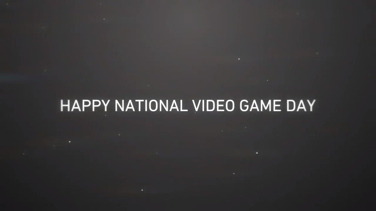 Thank you for keeping us entertained. Thank you for connecting us to people around the world. Thank you for pushing us to be better. Thank you for always being there. Today, we celebrate #NationalVideoGamesDay.