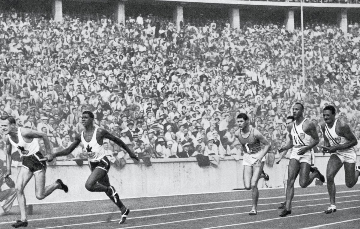 107 years ago today a legend was born: Jesse Owens. 🥇 100m 🥇 200m 🥇 4x100m 🥇 Long jump