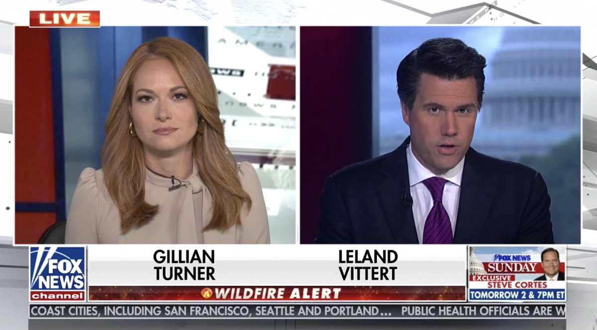 It's noon in the East, 9am in the West, and in our nation's capital Ms @GillianHTurner joins @LelandVittert to bring you news from all the far-flung corners of the globe. America's News HQ is LIVE now! https://t.co/V7wwbWm7wX