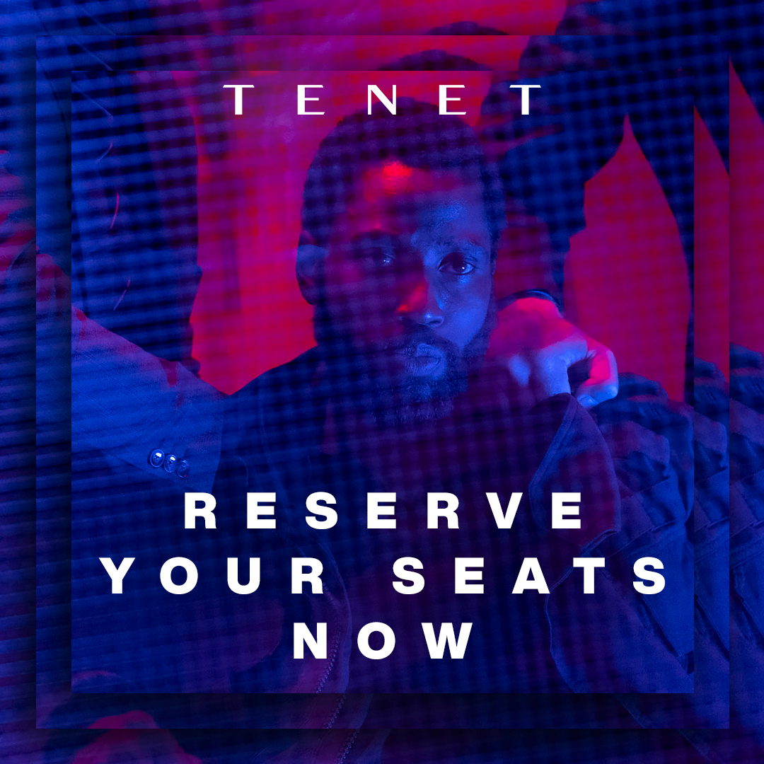 Big movies are back in theaters now. Reserve your seats: fandango.com/tenetfilm #TENET