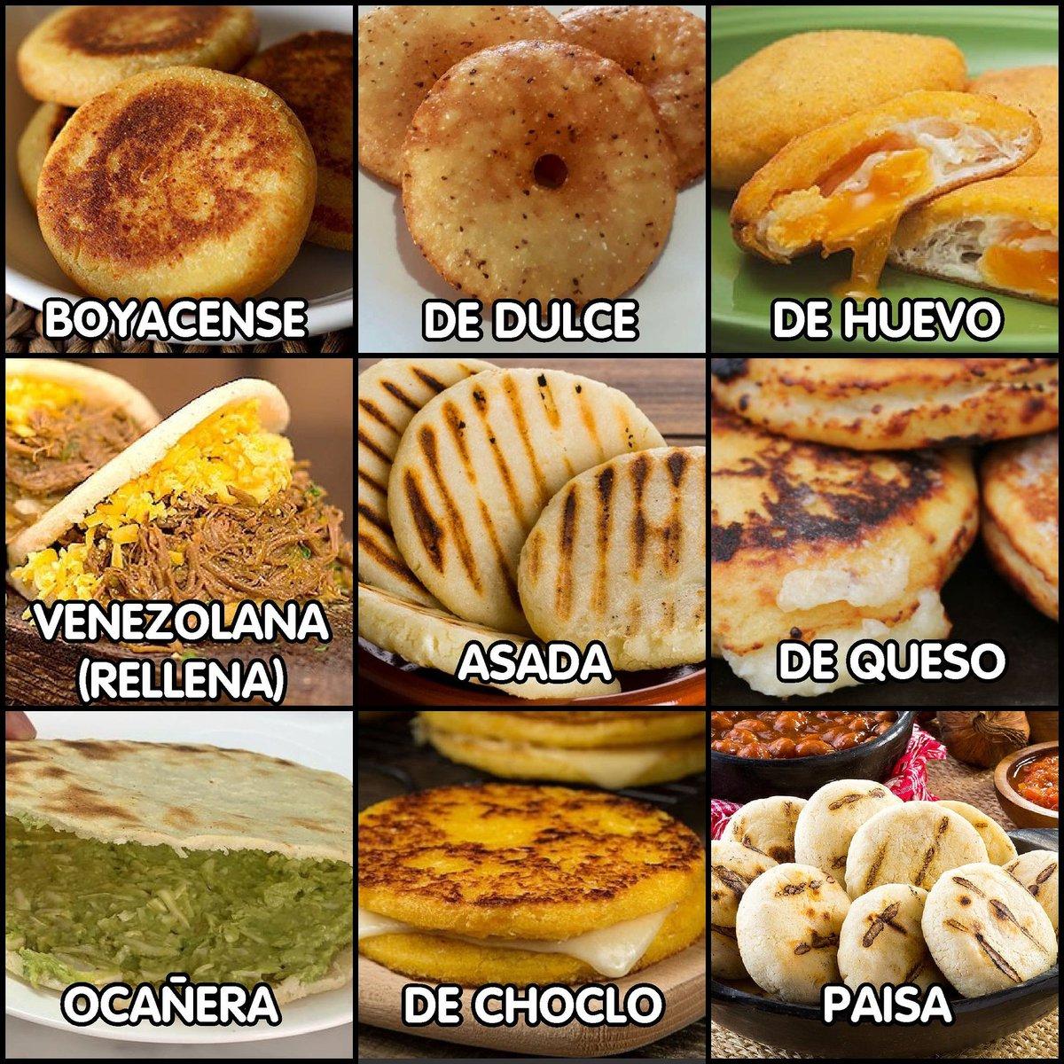Fred Avila V 4 0 On Twitter En El Diamundialdelaarepa Comparto Con Ustedes Mis Favoritas Soy Un Amante Apasionado De Este Manjar De La Gastronomia Colombiana Venezolana Y Latina Que Nunca Falten Las Arepas
