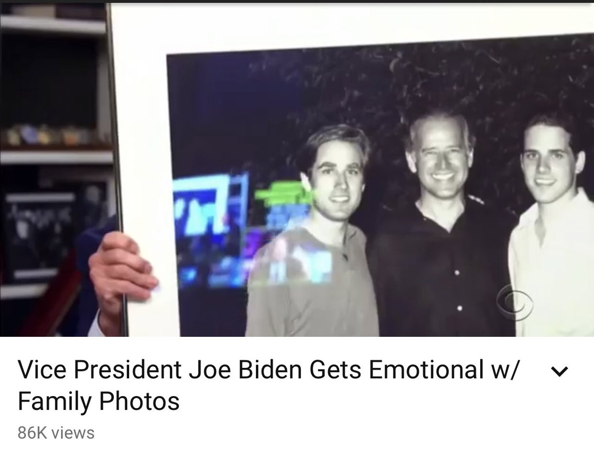 @Cernovich That reflection... Joe Biden was using a teleprompter for an interview with James Corden.