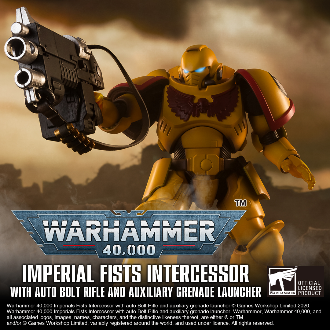 Reinforcements have arrived for your display shelves – the Salamanders and Imperial Fists action figures! The two new figures will be on pre-order from September 12th to October 12th! Will you be picking up yours today?    https://t.co/vwxHeYoSOX https://t.co/JimHZb5kTu https://t.co/uTxTzNrHiV
