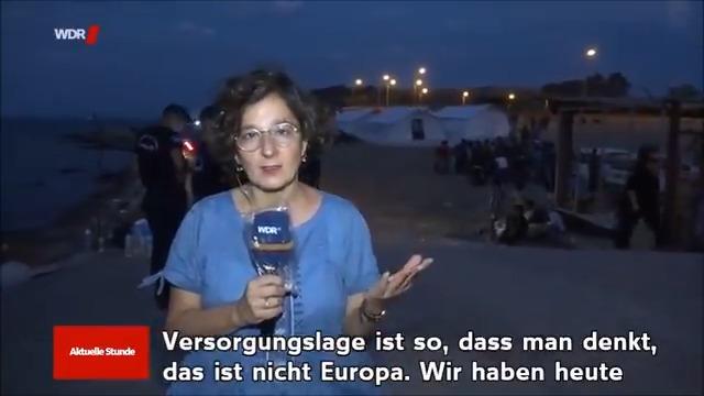 Kinder die Durchfall bekommen, weil sie Abwasser trinken! Unter der Verantwortung der EU!!! Was jetzt grade im #Moria-Ersatzlager passiert, ist unbegreiflich. Die Betroffenen vor Ort fühlen sich wie im Gefängnis. Es werden ohnehin traumatisierte Menschen weiter belastet!