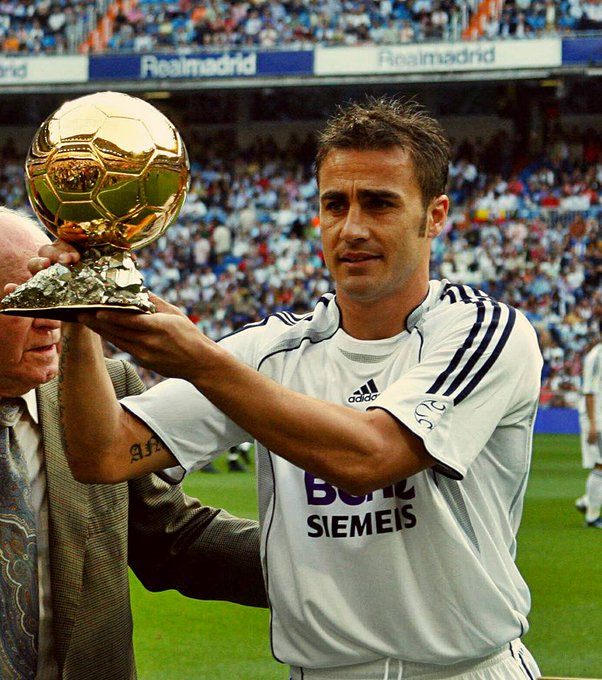 Happy 47th birthday to Fabio Cannavaro: The only defender to win the Ballon d\Or in the 21st century.