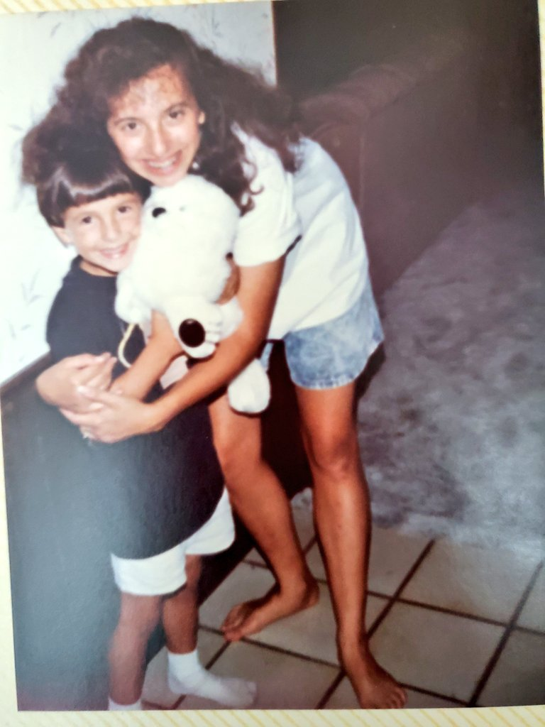 @onco_cardiology Thank you. My little brother. I wish I could have held on to him as tightly as I did in this photo.