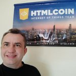 Image for the Tweet beginning: I see @HTMLCOIN in one