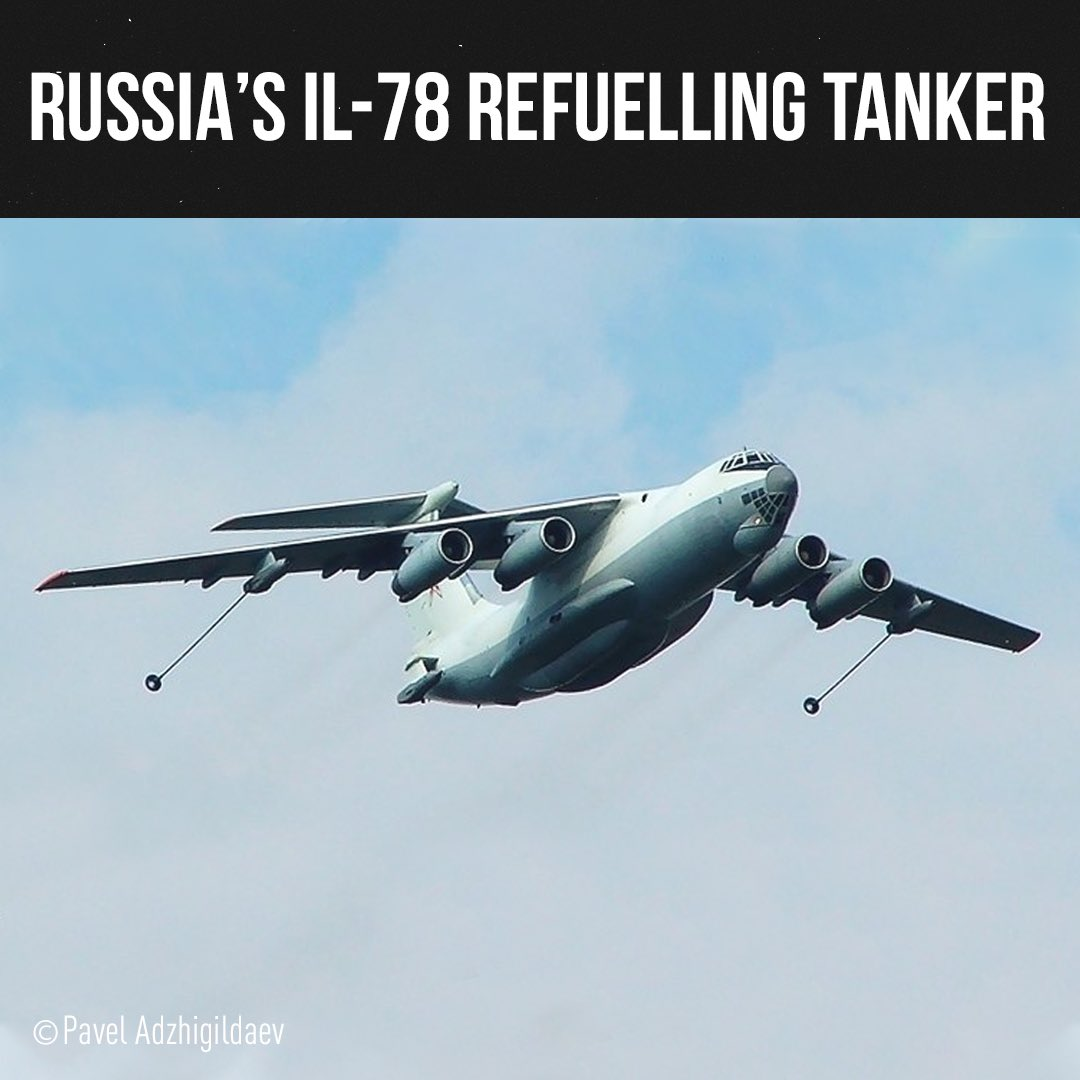 👏🏻✈️ Thank you for taking part! Time to publish the correct answer! It's Russia's Il-78 airborne tanker which refuels military planes in mid-air. It helps to extend their flying time and avoid the need to land. Find out more in the Combat Approved series on RTD's YouTube channel. https://t.co/vDf1LhiTme