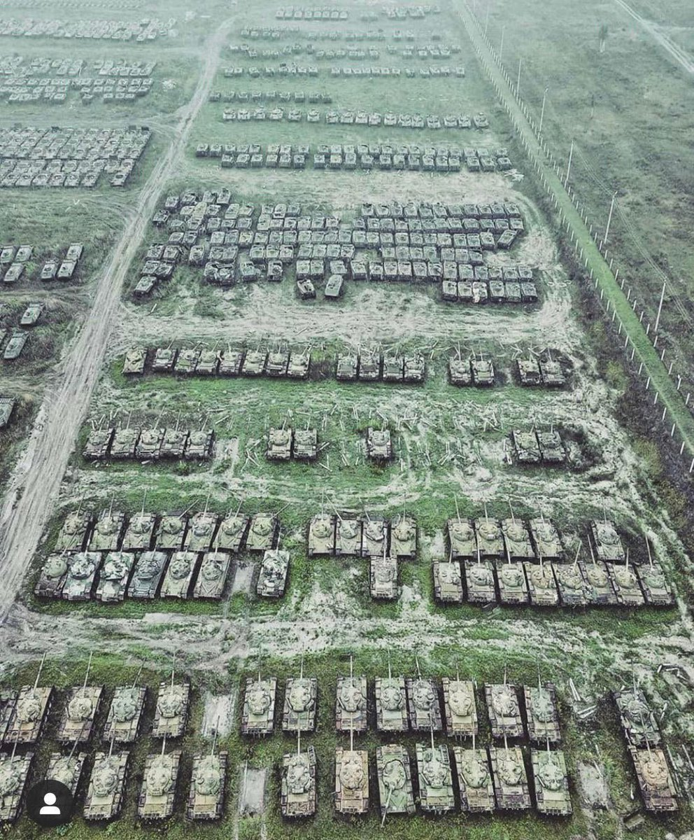Abandoned Soviet tanks in Siberia found by someone using a drone