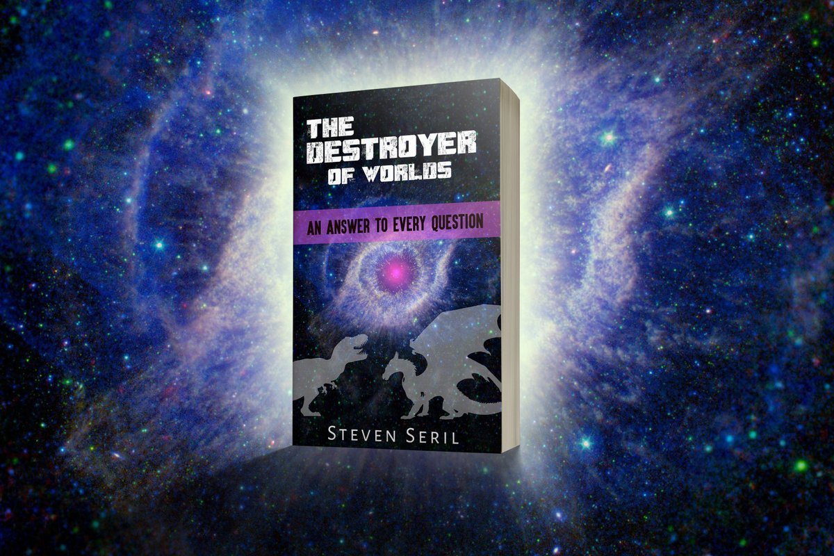 NEW professional book cover for my upcoming novel, #TheDestroyerofWorlds! All of the cosmos believably explained in an epic & satisfying story! #SelfPromotionSaturday #scifi #fantasy #fiction #books #Booktube #BookBoost #booklovers #WritingCommunity #writerslift #science https://t.co/kpqkXUgRPd