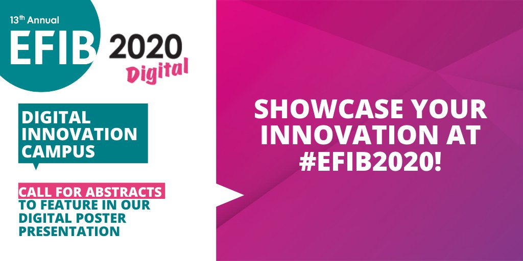 test Twitter Media - Looking for #academics working in:  🌳Material innovation  🍽️Food & Feed  🛠️New tools for the bio-based industry 🔄Bioprocesses  ♻️ Circular Bioeconomy  💰Financing   Submit your abstract now to take part in the #EFIB2020 Digital Innovation Campus… https://t.co/uvgvvVN5CR