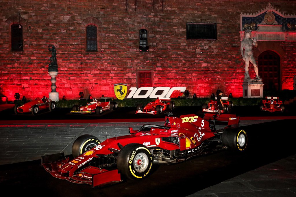 Must See Ferrari Puts On A Great Show In Florence To Celebrate 1000th Gp