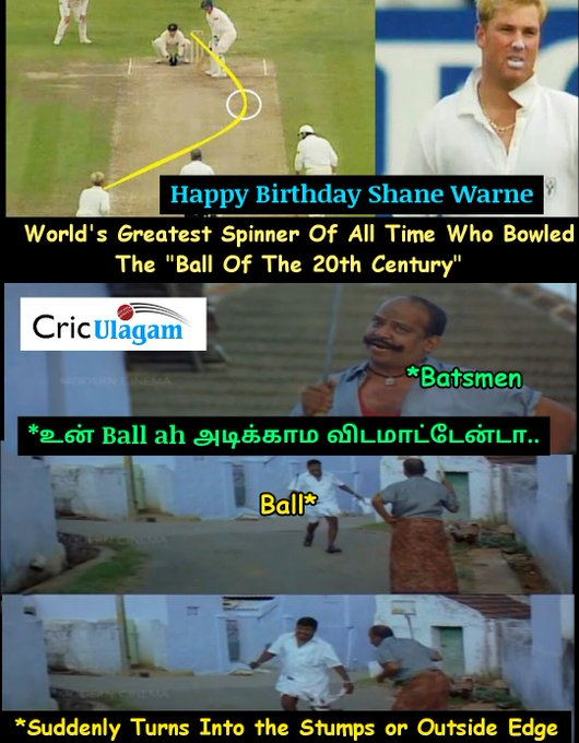 Happy Birthday The Great Shane Warne  Master Of Spin