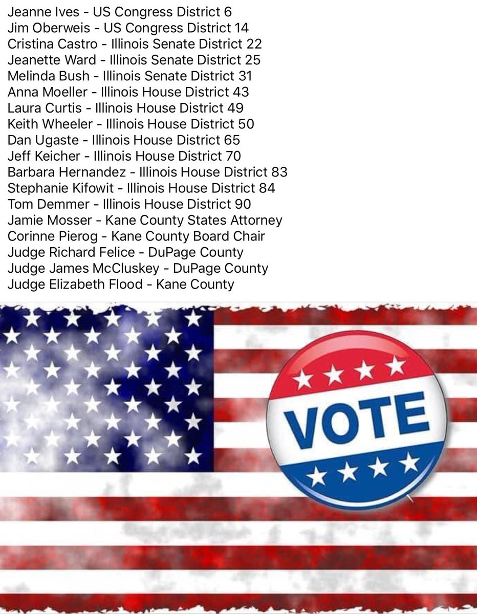 Congratulations to the local candidates who received endorsements for the 2020 General Election from A.B.A.T.E. of Illinois today! #DuKaneABATE #ABATEofIllinois #Vote2020 🇺🇸 https://t.co/uHxbMCSfoC