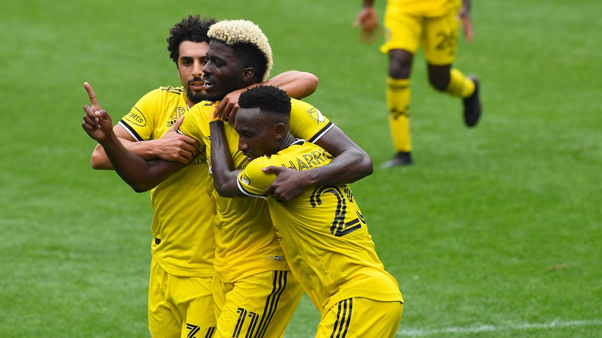 Now @gyasinho gets his goal and it's a late equalizer! His eighth in 11 matches this season. (@ColumbusCrewSC)