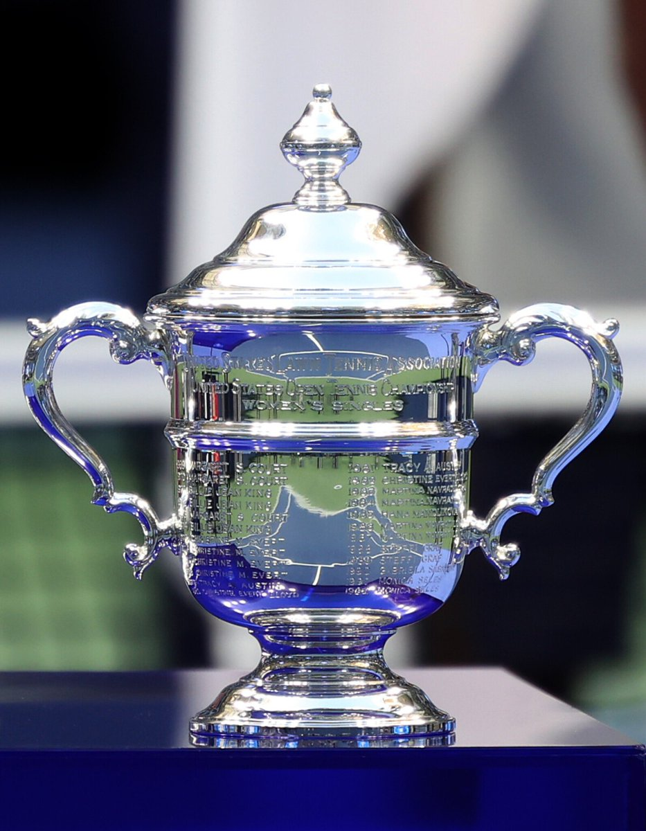 Us Open Tennis No Twitter Honoring More Than Three Decades Of Champions Tiffanyandco Is Proud To Annually Craft The Trophy For The Usopen Women S Singles Championship Https T Co L9ncj2pnns