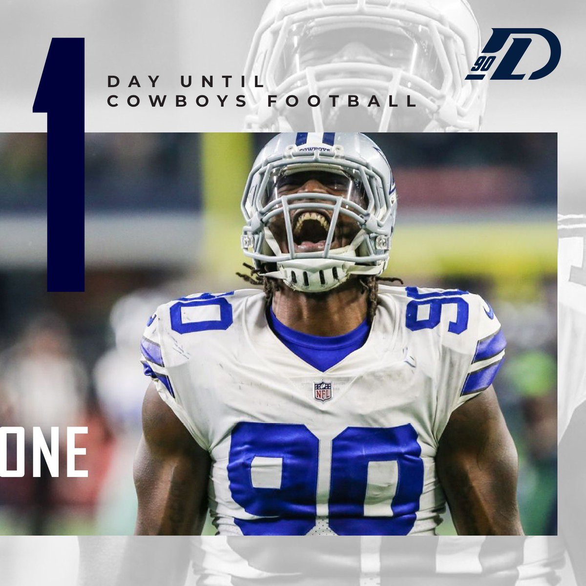 Proud of how this team has prepared. Now time to put it on the field! 🤘🏿 . #LawN90rder #CowboysNation