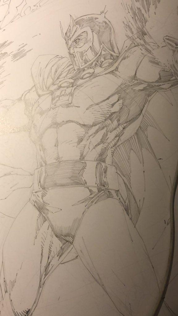 Magneto rendering going on..