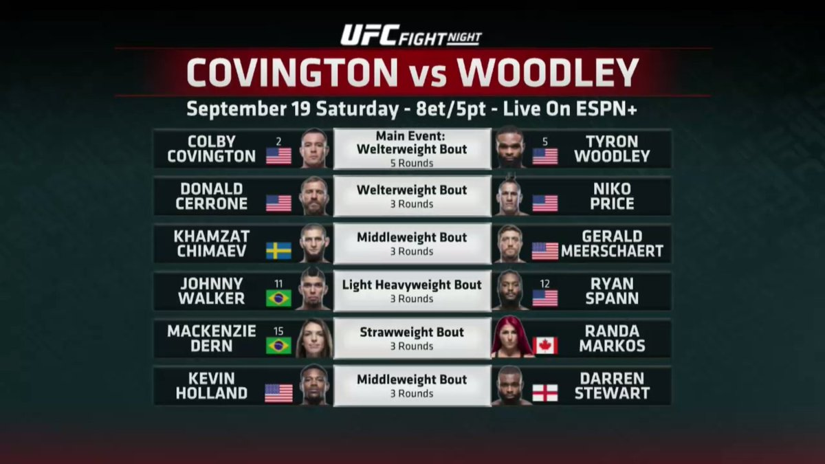 OH MY WORD.  💢 #UFCVegas10's main card is an all-time great! https://t.co/N5wqQ93c2B
