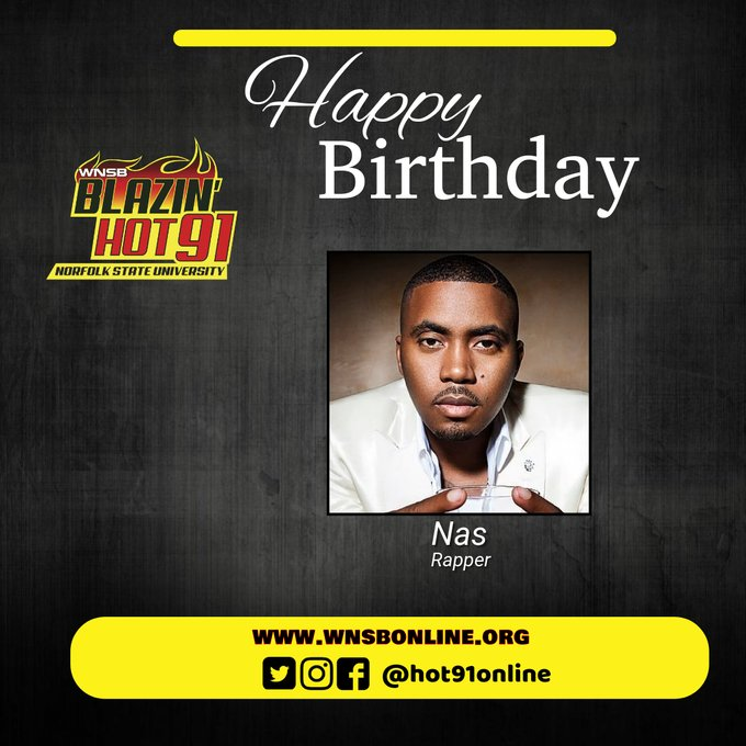Happy Blazin\ Hot birthday to Nas