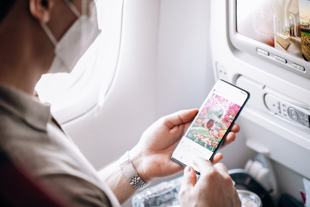 To celebrate the launch of more than 100 aircraft equipped with high-speed Super WiFi, #QatarAirways are offering a fantastic '100 Days of Super WiFi' with a complimentary full flight onboard access free to all passengers for 100 days from 25 September. https://t.co/fAWf0QjywJ https://t.co/YVlAeud2Ea