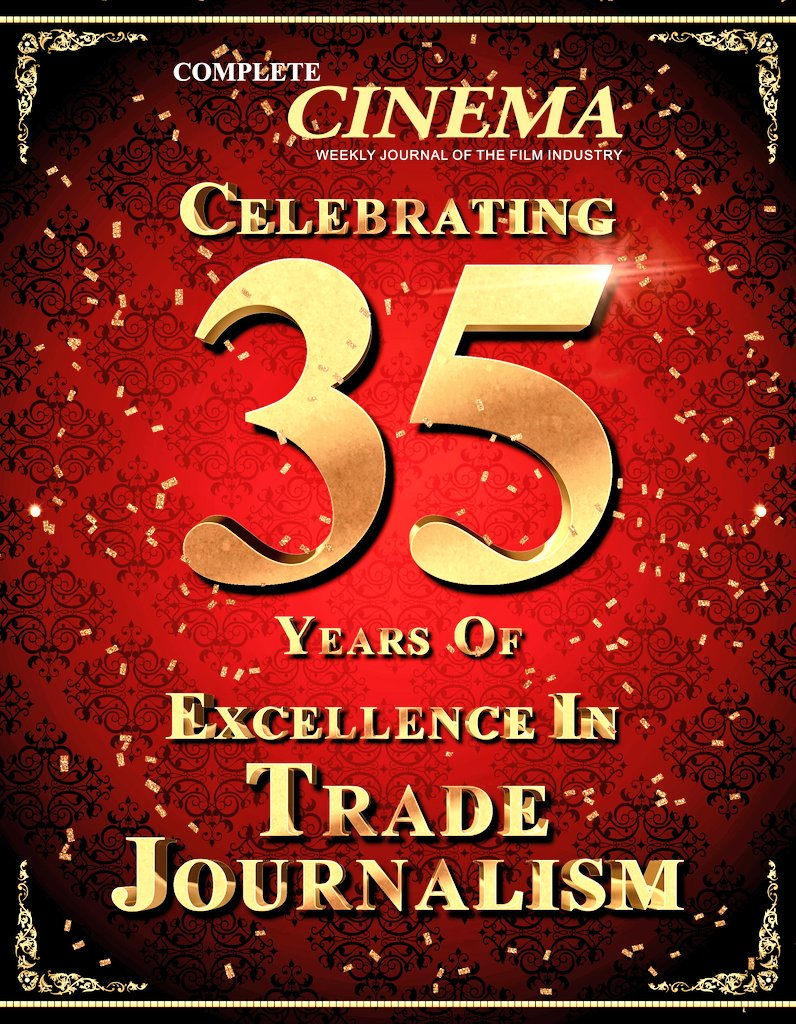 We Are 35!!! With Your Love♥️ Blessings🙌 & Support 💪 CELEBRATING 35 YEARS OF COMPLETE CINEMA🎊🎉! We thank all our patrons for their continued support over the years🙏 #CompleteCinema #CompleteCinema35Years @CompleteCinema @anitaatulmohan #Anniversary #35YearsOfCompleteCinema